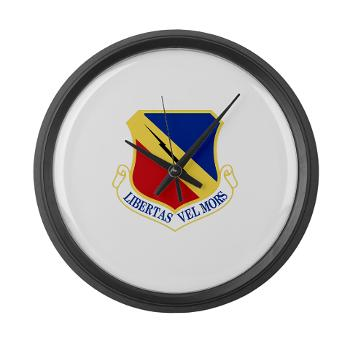 388FW - M01 - 03 - 388th Fighter Wing - Large Wall Clock