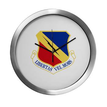 388FW - M01 - 03 - 388th Fighter Wing - Modern Wall Clock x