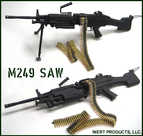 Inert, Replica M249 SAW - Squad Automatic Weapon Trainer